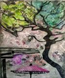 Tree and Umbrella