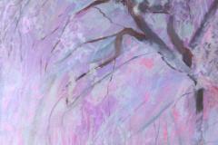Sakura 5, Acrylics  on Canvas